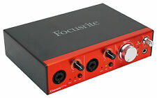 Focusrite CLARETT 2PRE 10-In/4-Out Thunderbolt Interface w/2 Clarett Mic Preamps