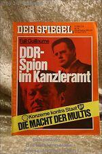 Der Spiegel 18/74 29.4.1974DDR-Spion im Kanzleramt