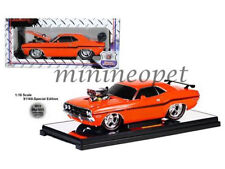 M2 MACHINES 91165 S01OR ENGINE BLOWER 1970 70 DODGE CHALLENGER R/T 1/18 ORANGE
