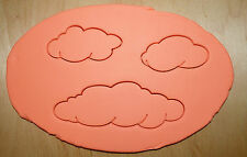 3 Pcs. Clouds Cookie Cutter Set
