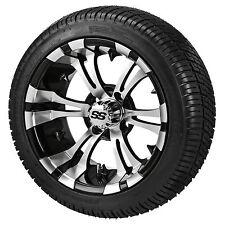 Set of ITP 14 SS or HD Aluminum Alloy Golf Cart Car Rim Wheels & 205-30-14 Tires