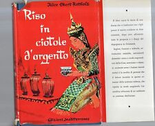 riso in ciotole d argento - alice ekert rotholz