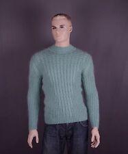 Mohair Pullover in Größe M oder L und Farben: mintgrün oder bordeaux (nach Wahl)