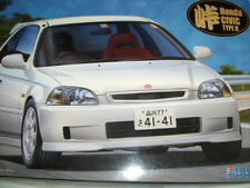 NEW FUJIMI HONDA CIVIC TYPE R 1/24 Scale PLASTIC MODEL KIT