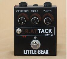 Little bear Guitar Bass TURBO Distortion Fuzz StompBox Pedal effect actupr