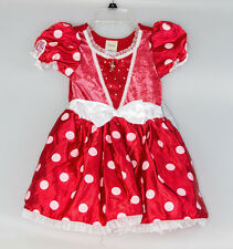 Disney Store Authentic Minnie Mouse Costume Sz 5 6 Dress Up Party Halloween NWT