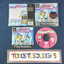 The Powerpuff Girls Chemicals X-traction Playstation BUENA CONDICION