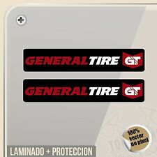 PEGATINA GENERAL TIRE MOTORSPORT LOGO VINILO VINYL STICKER DECAL ADESIVI