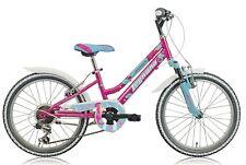 """Bicicletta bambina MTB 20"""" LEGNANO JUNIOR SEAHORSE L686 CAMBIO SHIMANO 6V. FUXIA"""