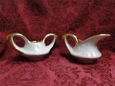 Pearl China Co Pea9, Pearlized Lusterware, Gold Trim, Sugar & Creamer Set