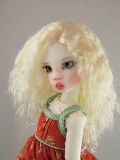Monique ELLOWYNE-ROSE White Blonde color Wig Size 7-8 MSD BJD shown Miki Wiggs
