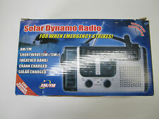 **NEW**  SOLAR & HAND CRANK WEATHER RADIO. FLOOR SAMPLE
