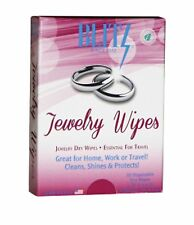 Jewelry Wipes - Dry & Disposable. Travel Friendly Packaging. Non Toxic. USA Made