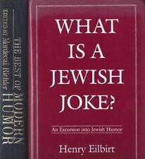 2 Laughter Books: The Best of Modern Humor by Richler & What is a Jewish Joke?
