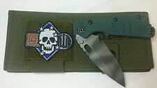 Strider SMF Limited Folding Knife! Strider & 5.11 Collaboration w/ WWII Patch!