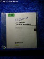 Sony Bedienungsanleitung STR D8925 FM/AM Stereo Receiver  (#0766)