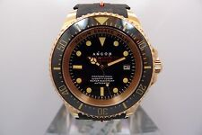 ANCON SEA SHADOW MAGNUM III DEEP SEA 1000M DIVER NEW 43MM GOLD PVD
