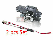 3RACING AUTO Crawler Winch W Control 2pcs EP 1/10 RC Axial SCX10