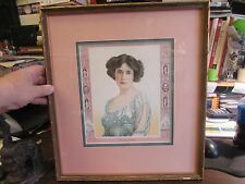 MRS PATRICK CAMPBELL - MEYER BROS & CO. - PHOTO BY MARCEAU - FRAMED PRINT