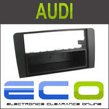 Audi A4 08 & gt A3 03 & gt Single Din coche Radio Estéreo De Facia Fascia Panel guarnecido t1-24au09