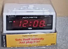 AcuRite 13001 Intelli-Time Digital Travel Alarm Clock Eight Time Zones