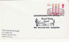 (34009) GB SVENDITA FDC Leicetsershire Fire Service Natale 19 Novembre 1980
