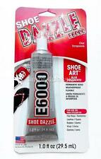 E-6000 SHOE DAZZLE Glue for Shoe Arts Permanent Bond Water Proof Flexible 1.0 oz