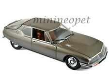 NOREV 181583 1971 71 CITROEN SM 1/18 DIECAST MODEL CAR SCARABEE BROWN METALLIC