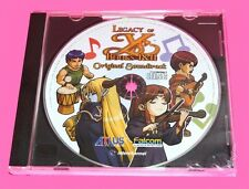 Legacy of YS Books 1 & 2 Soundtrack CD Falcom Turbo Grafx Duo 3DS DS PSP