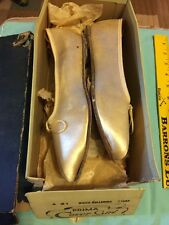 Vintage Prima Cover Girl Dress Ballet Ballerina Flats Shoes Size 7.5