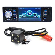 Car Stereo CD Player Bluetooth USB MP3 In Radio Dash Receiver AUX Pandora+Camera