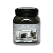 Cretacolor Charcoal Powder 175g Pot. For Artists Drawing and Sketching