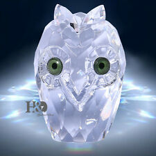 Crystal Animal Figurines Owl Glass Paperweight Collectibles Decorative Ornaments