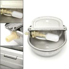 2.5L Automatic Water Bowl Stainless Steel Trough Horse Cow Dog Drink Sheep Goat