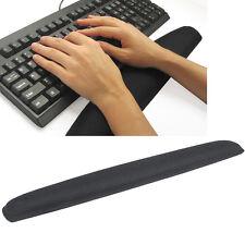 Comfort Gel Wrist Rest Support Black Pad for PC Keyboard Raised Platform Hands