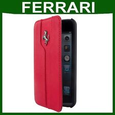 Genuine FERRARI FLIP LEATHER CASE Apple iPhone 5C smartphone book cover pouch
