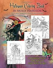 Halloween Coloring Book: by Molly Harrison