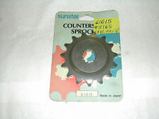 NEW SUNSTAR 61015 FRONT SPROCKET KAWASAKI ZX750A GPZ750 1983-85 15 TOOTH