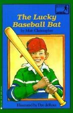 The Lucky Baseball Bat (Springboard Books)-ExLibrary