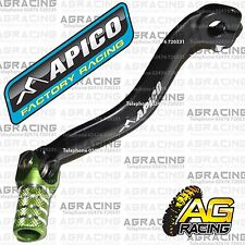 Apico Black Green Gear Pedal Lever Shifter For Kawasaki KX 250 1991 Motocross