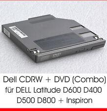 CDRW DVD COMBO PER DELL LATITUDE D600 D400 D500 D610 D800 D810 INSPIRON 8500 D11