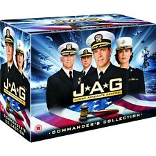 """JAG COMPLETE SERIES 1-10 COMMANDER'S COLLECTION DVD BOX SET 54 DISCS R4 """"SEALED"""""""