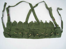Original Chinese Military SKS TYPE 56 AMMO CHEST-RIG Bandolier Pouches