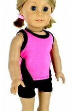 Lovvbugg Workout Shorts Set for American Girl doll Clothes Widest Selection