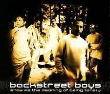 BACKSTREET BOYS - SHOW ME THE MEANING OF BEING LONELY CD SINGLE *GOING CHEAP!