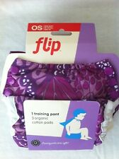 NIP New BumGenius FLIP PATCH TRAINER with 3 Organic Inserts Cloth Training Pant