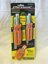 "PICQUIC Family Combo Pack - SixPac Plus, Stubby and Teeny Turner - ""Orange"""