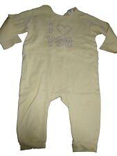 C & A toller Schlafanzug Gr. 80 gelb mit Schriftzugdruck !!
