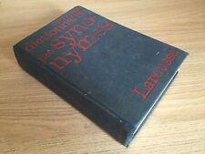 LAROUSSE 1977 DICTIONNAIRE SYNONYME - Très Vieux Livre Université Rabelais Tours