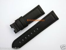Panerai Black Leather Strap for Luminor 40mm New !
